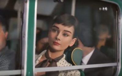 La magia de Audrey Hepburn resucitada en un nuevo anuncio publicitario
