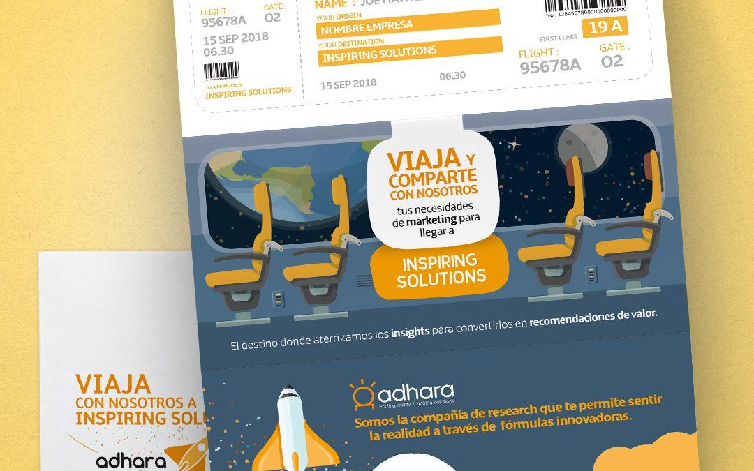 Diseño Gráfico Destination: Inspiring Solutions