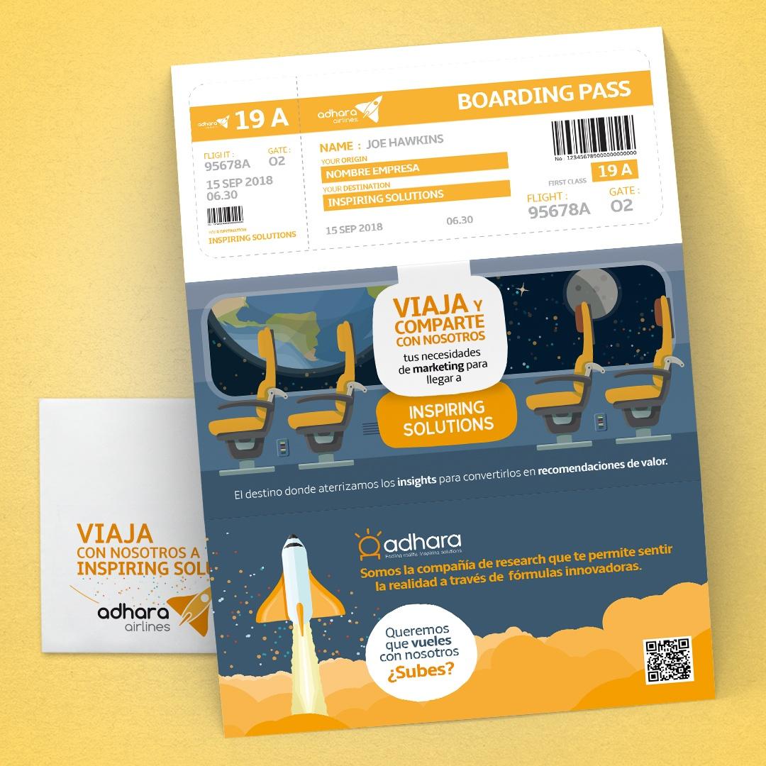 diseño grafico publicidad correo adhara