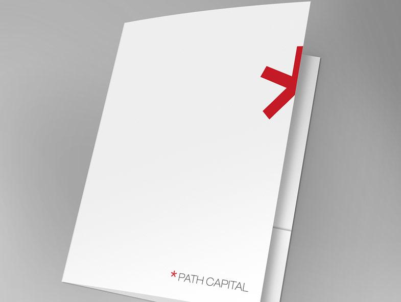 imagen corporativa carpeta path capital