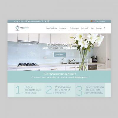 Diseño Web Top Cristal