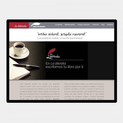 Diseño Web La Literata