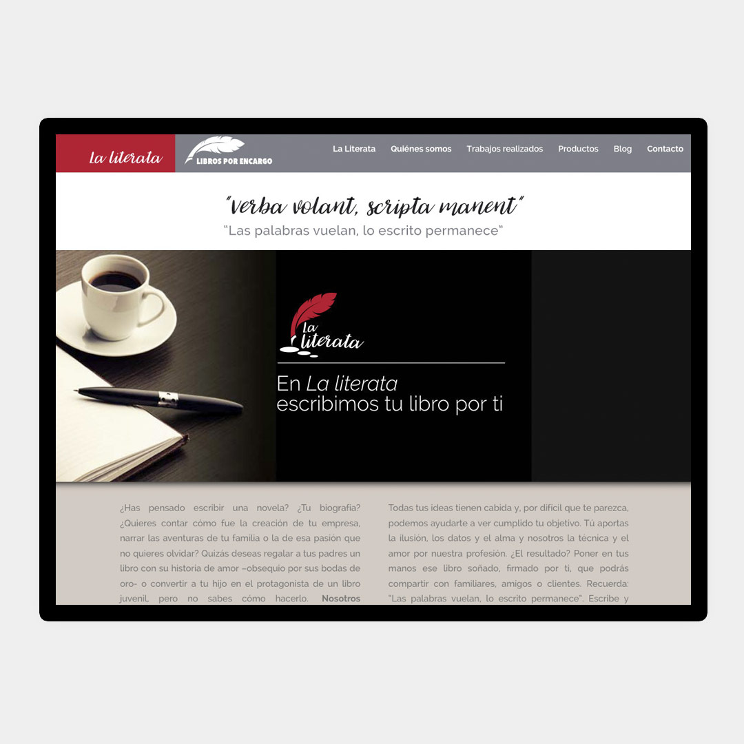 diseno web responsive la literata