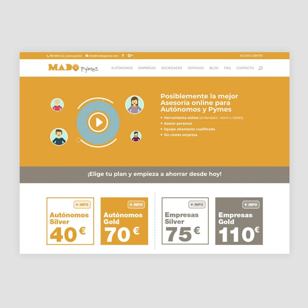 Diseño Web Mado Pymes