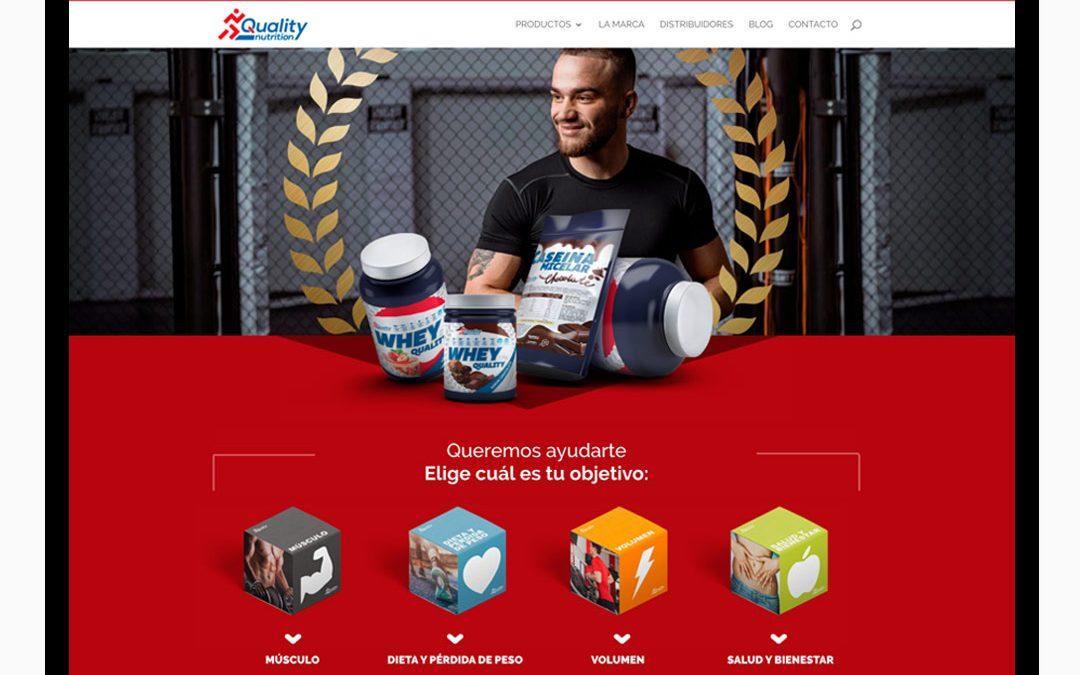 Diseño Web Quality Nutrition