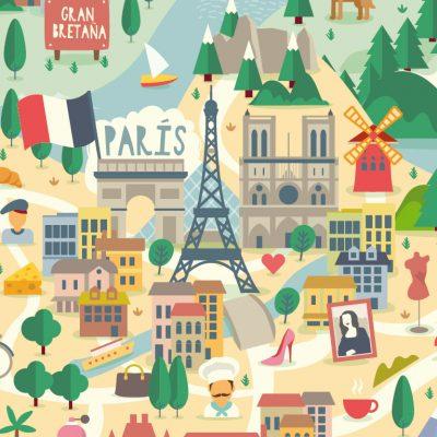 Diseño Gráfico Viaja con nosotros a lugares maravillosos