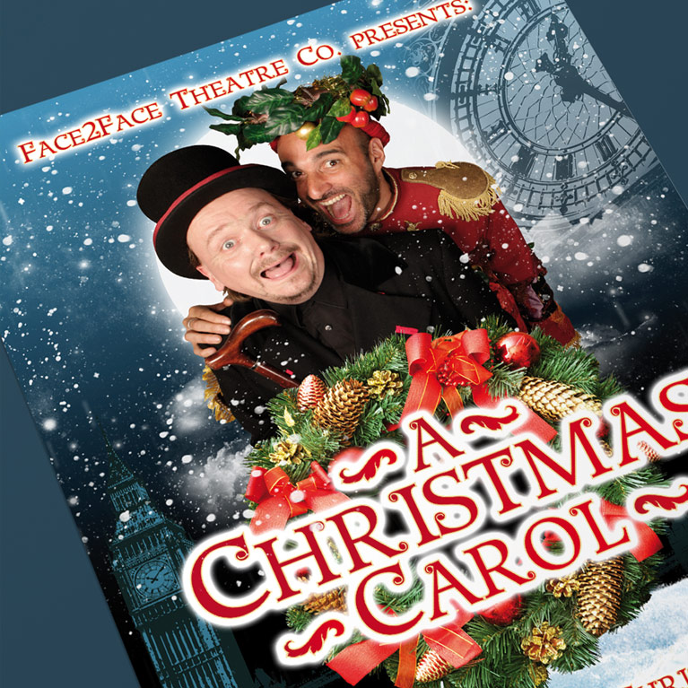 Diseño Gráfico A Christmas Carol