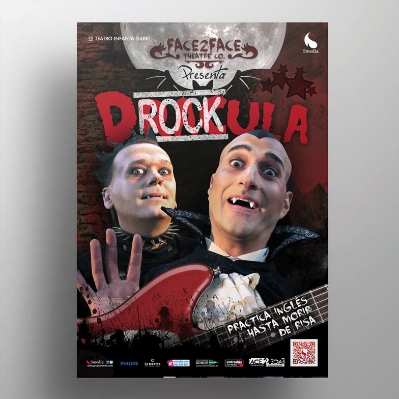 diseño grafico cartel drockula