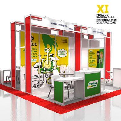 Producción XI Feria de empleo para personas con discapacidad