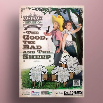 Diseño Gráfico The Good, the Bad and the Sheep