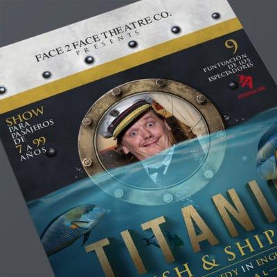Diseño Gráfico en Madrid, Titanic fish & ships