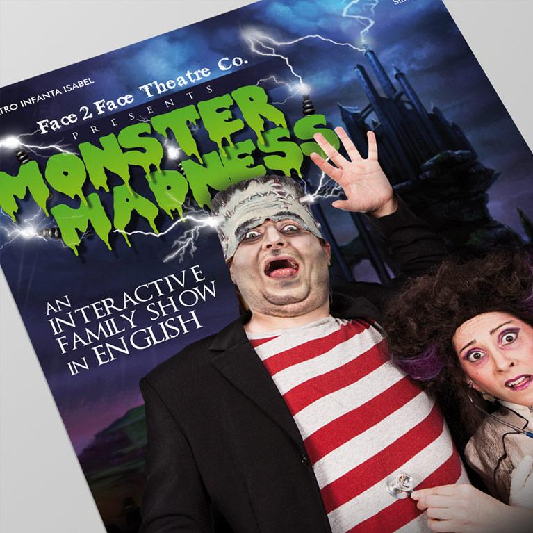 Diseño Gráfico Monster Madness