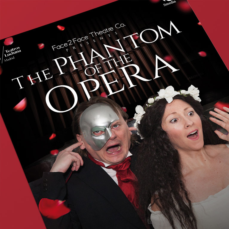 Diseño Gráfico The Phantom of the Opera
