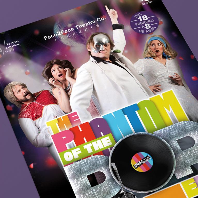 Diseño Gráfico The Phantom of the Opera of the POP Era