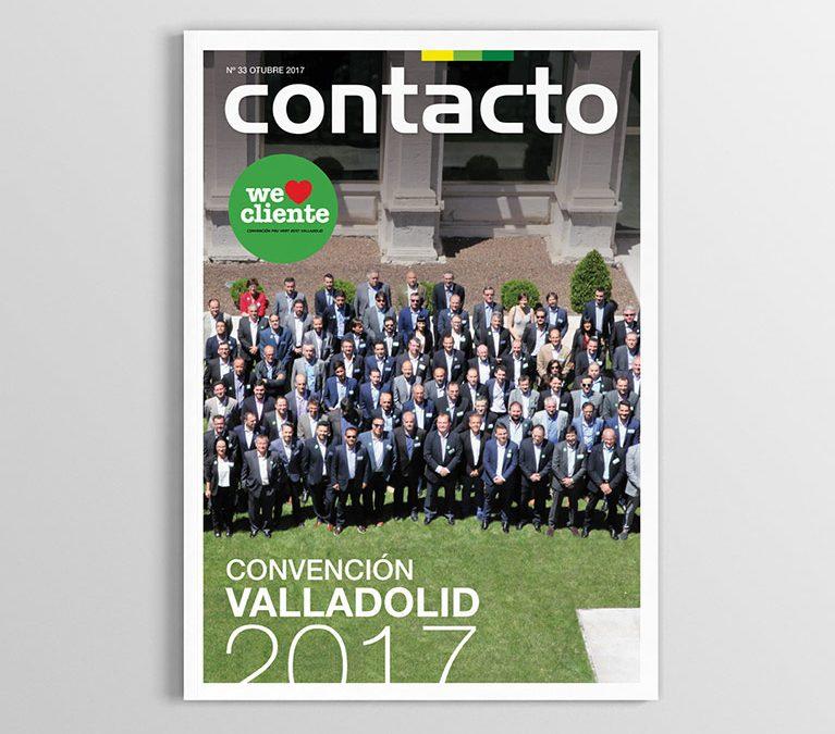 Maquetación Revista Contacto