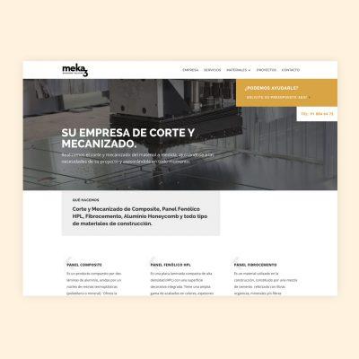 Diseño Web Meka3