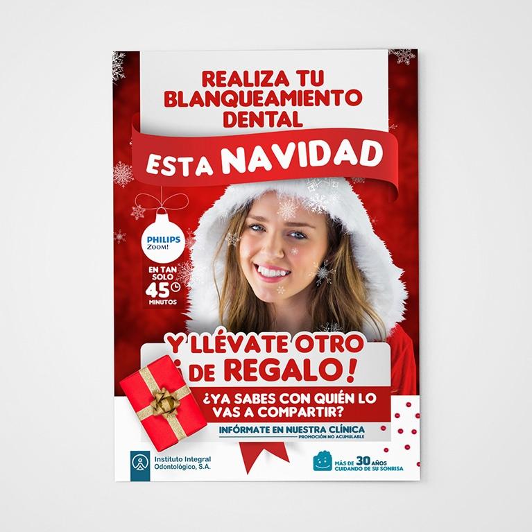 diseño grafico cartel campañas Instituto Integral Odontológico