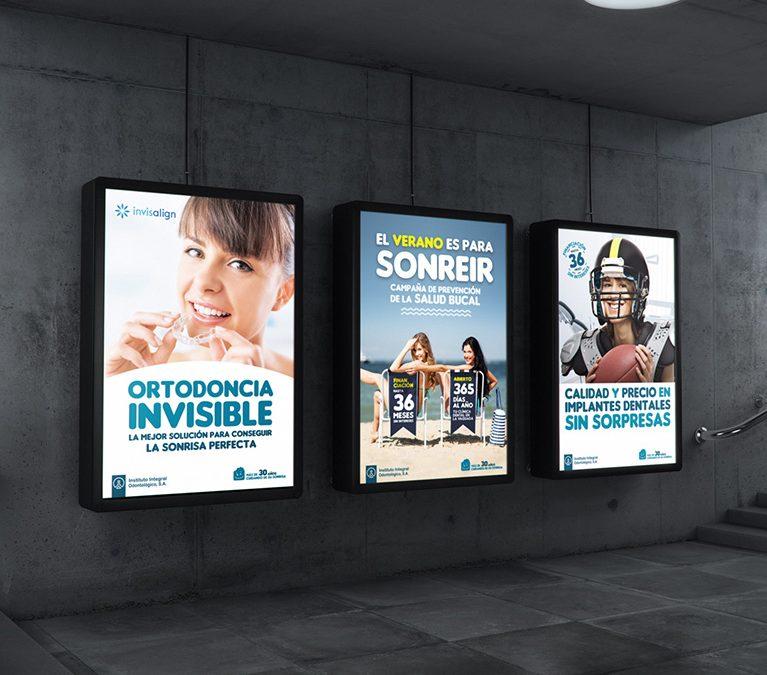 Diseño Gráfico Campañas Instituto Integral Odontológico