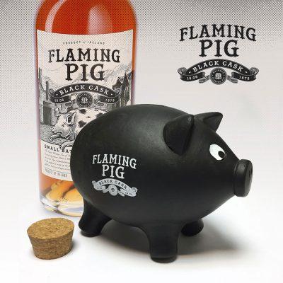Producción Mascota Flaming Pig