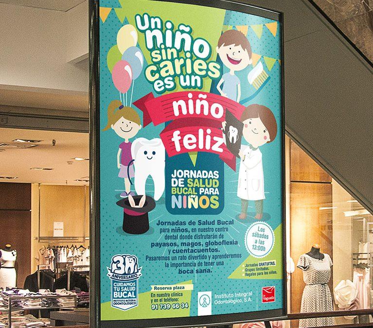 Diseño Gráfico Jornadas de Salud Bucal para Niños