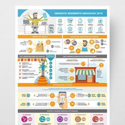 Diseño Gráfico Insights Segmento Negocios 2019