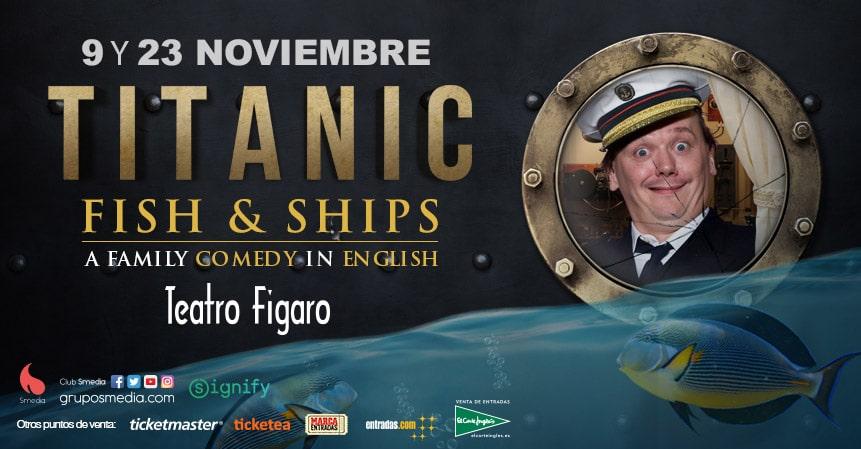diseño gráfico banner home titanic face 2 face