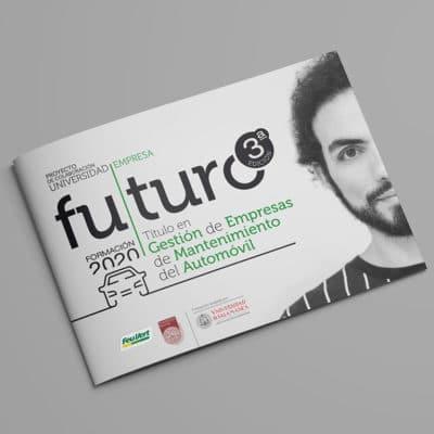 Diseño gráfico y maquetación en Madrid, Catálogo de Formación Futuro