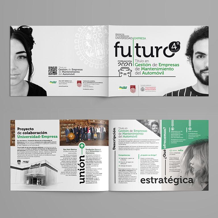 diseño grafico revista futuro feu vert