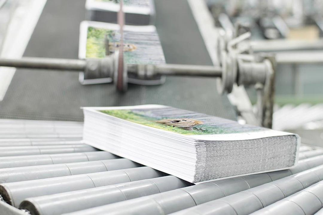 Gestionamos tus trabajos de Imprenta en Madrid