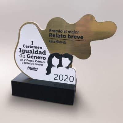 Producción Trofeo del I certamen de Igualdad de Género de Feu Vert