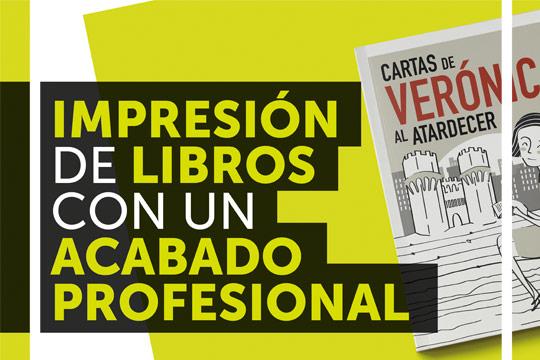 Oferta de impresión de libros con un acabado profesional