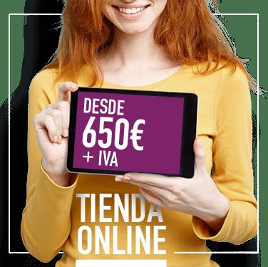 Tu tienda online desde 650€ + IVA