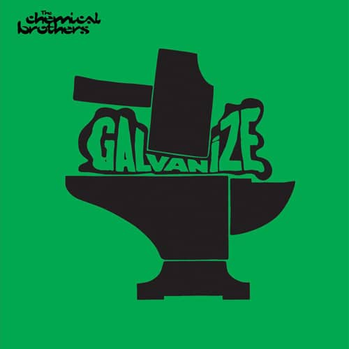 Carteles canciones ablum chemical brothers