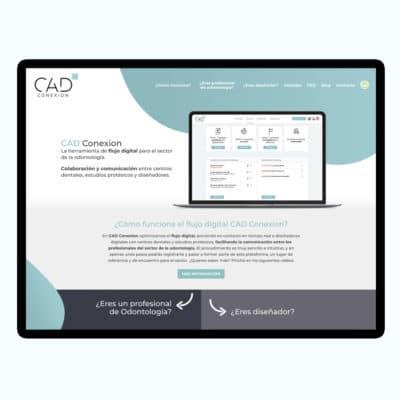 Diseño Web CAD Conexion