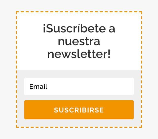 formulario newsltter ejemplo