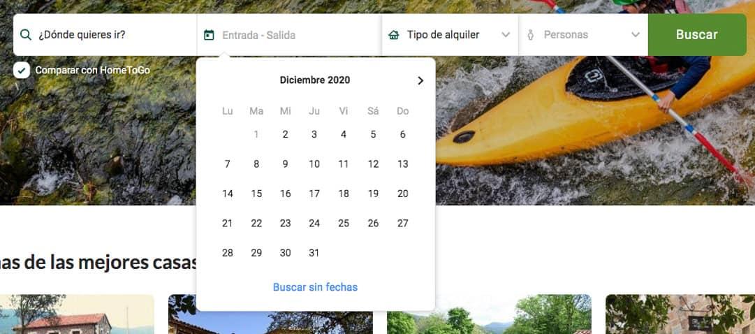 diseño intuitivo calendario