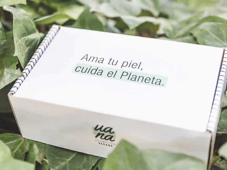 Imagen Corporativa UANA Cosmética Vegana