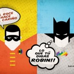 Batman y Robin calendario 2014 superheroes dadu estudio
