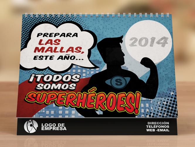 Calendario 2014 Portada