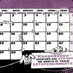 Calendario 2014 septiembre suerheroes dadu estudio