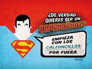 Calendario superman 2014 Dadu Estudio