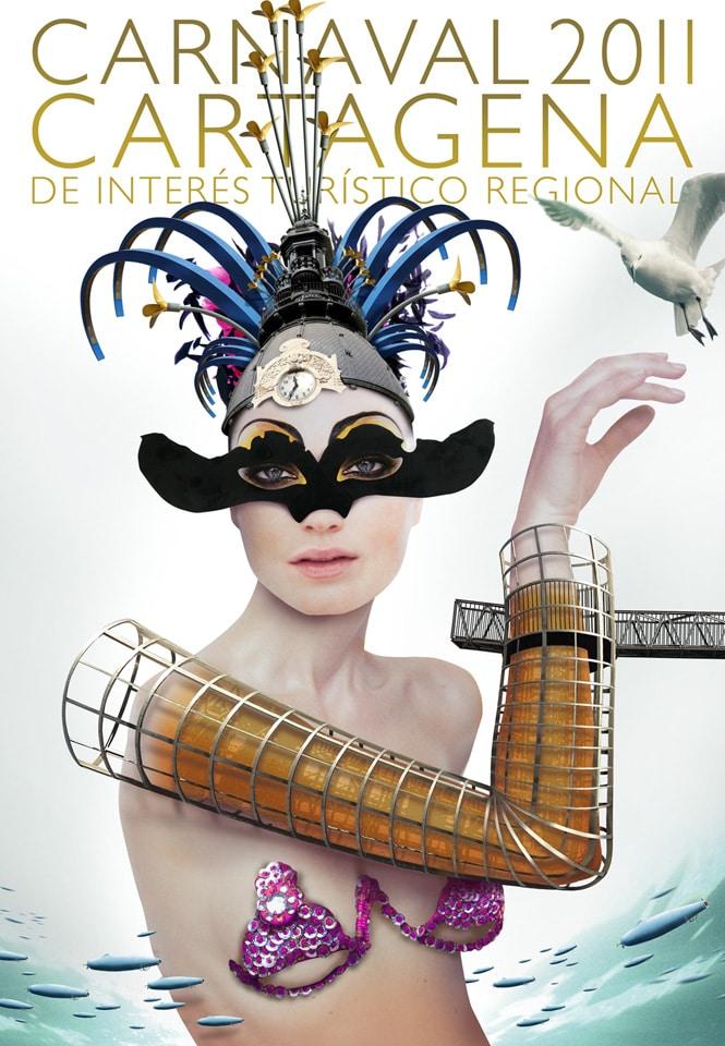 Concurso: Diseño de cartel para el Carnaval de Cartagena 2013