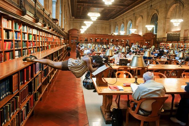 Jordan Matter Dancers-Among-Us-in-NY-Public-Library-Michelle-Fleet91