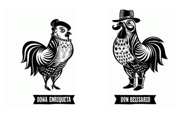 Don Belisario, un ejemplo contemporáneo de tradición ficticia en la imagen corporativa