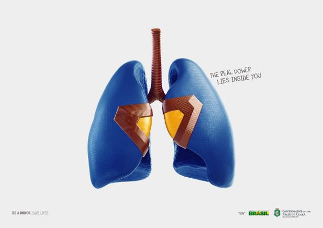 Campaña: los donantes de órganos tienen corazón de superheroe