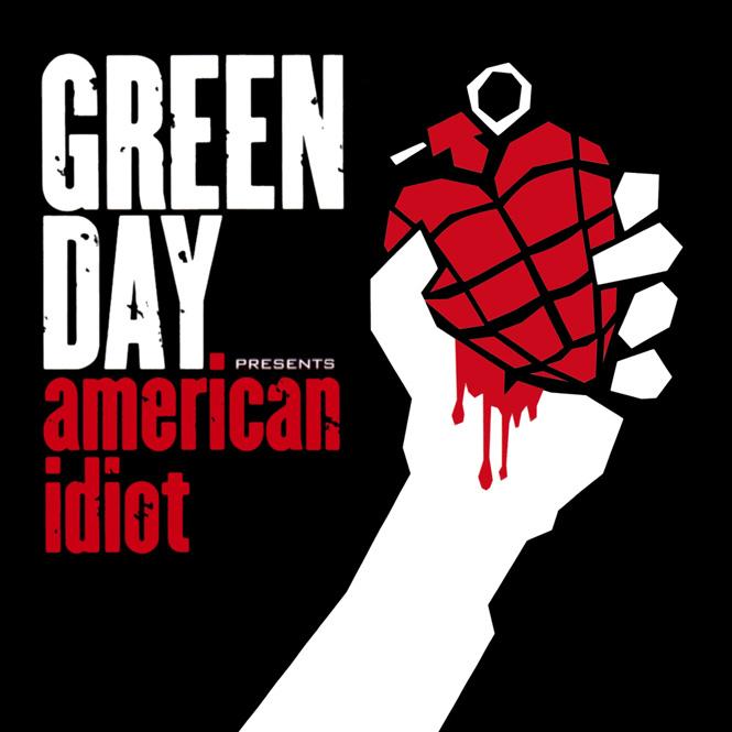 Portadas de discos: ¡Estas 40 tienen los diseños más increíbles!: Green Day - American Idiot 2004