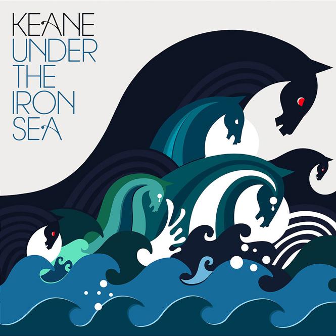Portadas de discos: ¡Estas 40 tienen los diseños más increíbles!:  Keane - Under The Iron Sea 2006