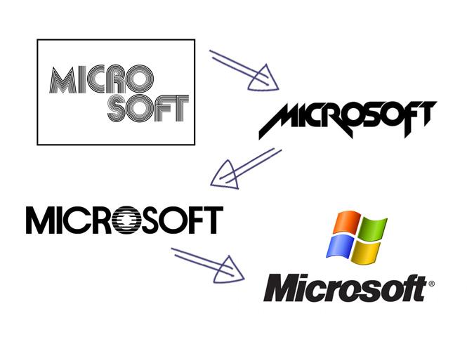 El nuevo logotipo the microsoft