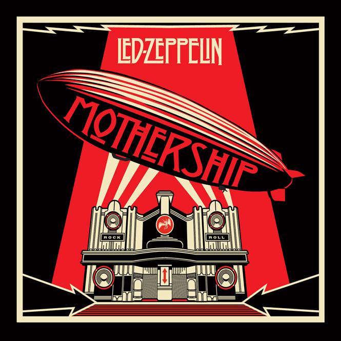 Portadas de discos: ¡Estas 40 tienen los diseños más increíbles!: Led Zeppelin - Mothership 2007