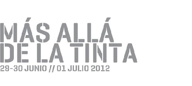 """5º Congreso de Tipografía """"Más allá de la tinta"""""""